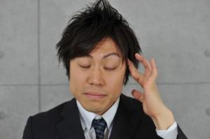 頭痛ビジネスマン