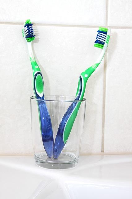 歯ブラシコップ