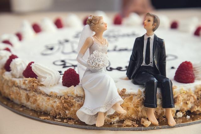 2人のケーキ